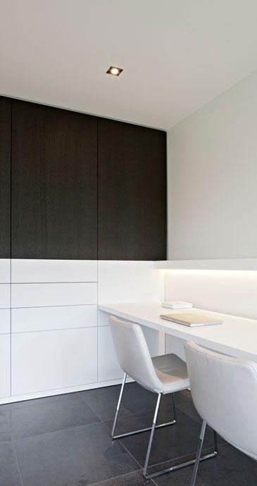 <3 interieurarchitect Frederic Kielemoes  #study #workspace #clean