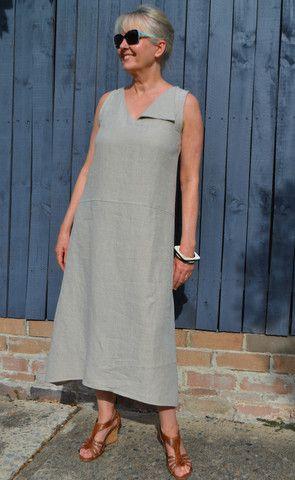 Sophie Dress - Patterns - Tessuti Fabrics - Online Fabric Store - Cotton, Linen, Silk, Bridal & more