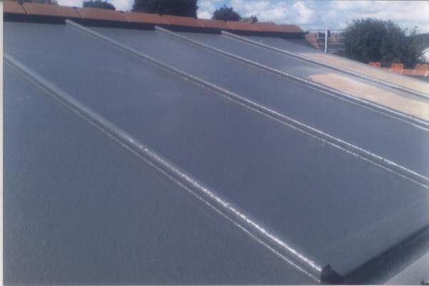 Much Prefer This Finish To Grp Roof Than Plain Ridges