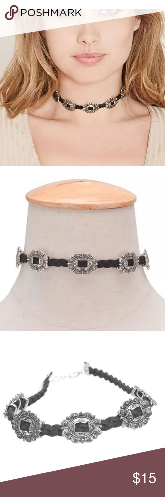 New✨ Antique Silver Engraved Flower Choker  ✨ ✨Fashion Jewelry ✨Silver Plated  🔸Brand New✨ 🔸PRICE IS FIRM- already listed at lowest price  🔸If you want to save please look into bundling  🔸In Stock 🔸No Trades 🔸Will ship within 24 hours Monday-Friday 🚫Please -NO- Offers on items priced $10 and under and on Sale Items! 🔺Serious Inquiries Only❣️  🔹Bundle one or more items from my boutique to only pay one shipping fee and SAVE Money❣️ Jewelry Necklaces