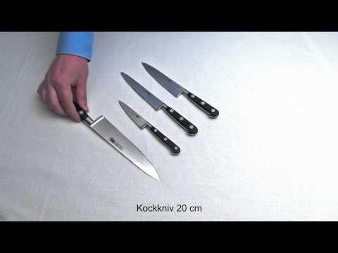 Köksknivar från franska Thiers Issard Sabatier