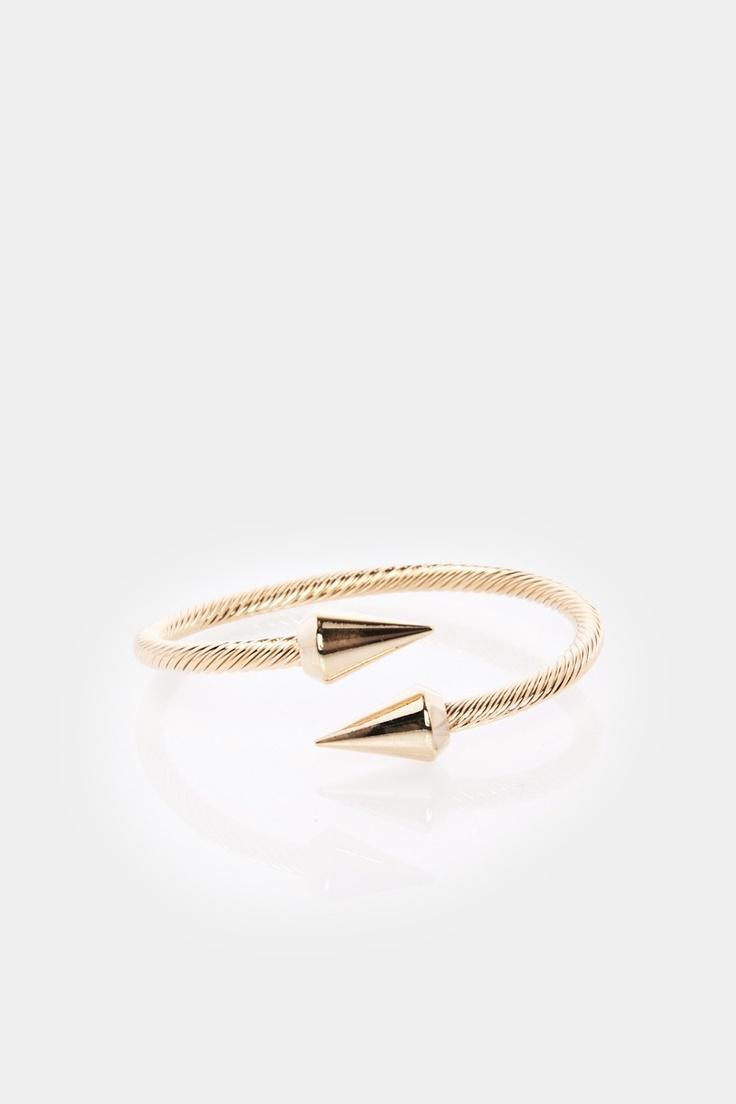 ShopSosie Style : Twisted Spike Bracelet