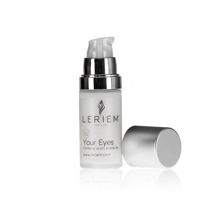 YOUR EYES Contorno occhi idratante  Formula adatta a tutti i tipi di pelle, specificatamente studiata per l'idratazione e la protezione del contorno occhi  dall'invecchiamento precoce.