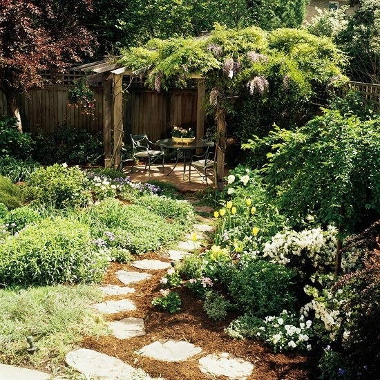 10 Simple Solutions for Small Space Landscapes Jonesboro | Memphis | Small Yard Lawn Care Landscape Design Inspiration Ideas Garden