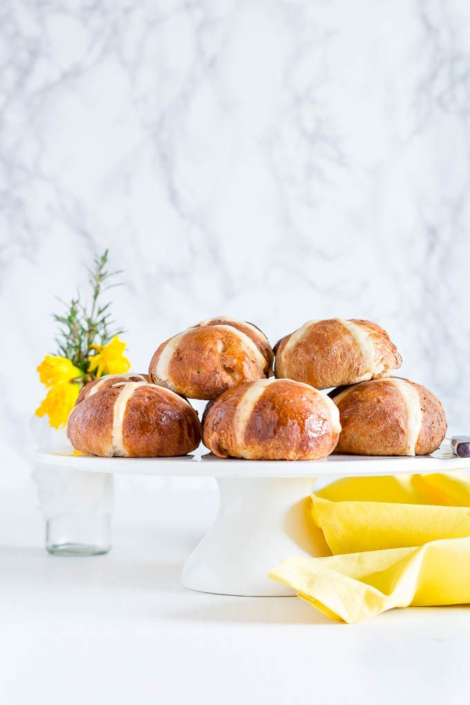 If Sierra Leoneans did hot cross buns, these tropical hot cross buns, aka mango and coconut hot cross buns, would be the ones we would make.