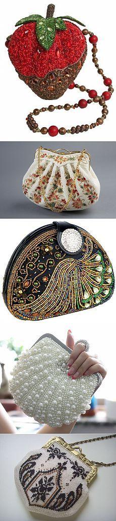 Немного бисера сумочки.. / Бисер / Украшения из бисера: схемы, мастер классы Handmade Handbags & Accessories - amzn.to/2iLR27v Clothing, Shoes & Jewelry - Women - handmade handbags & accessories - http://amzn.to/2kdX3h7