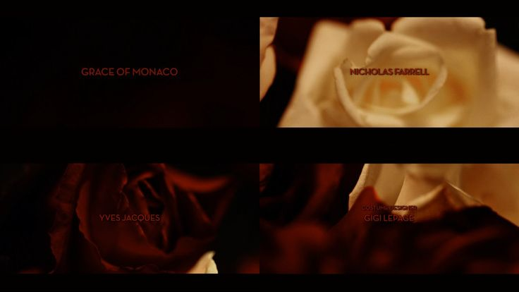 We have designed and created the end titles sequence for #GraceDeMonaco inspired by red and white roses very much seen in the movie: https://vimeo.com/96515137