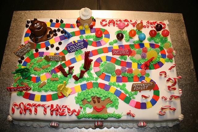 Candyland Cake by marksl110, via Flickr