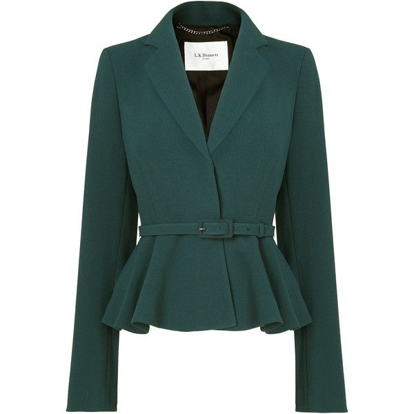 See this and similar L.K.Bennett jackets - Femininity and unexpected detailing is key with the Jetta jacket, part of the Jetta suiting system. Beautifully tailo...