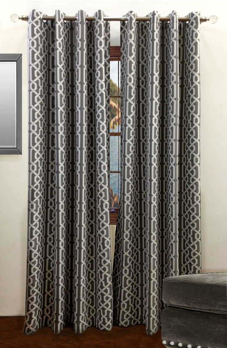 Samba Window Panels From Rodeo Home Decorating With Gray