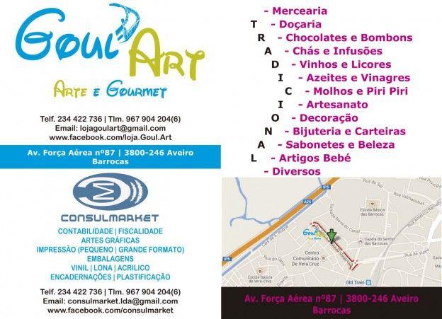 #Artesanato, #Gourmet , Produtos Tradicionais, #Workshops, Artes Gráficas no #caseiropt por Goul'Art em Aveiro