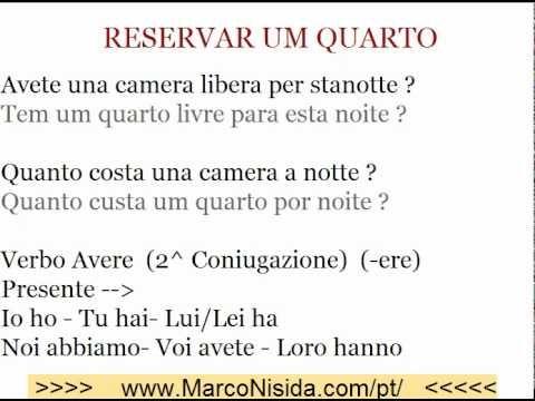 Curso de Italiano Gratis 2 para Brasileiros e Portugueses