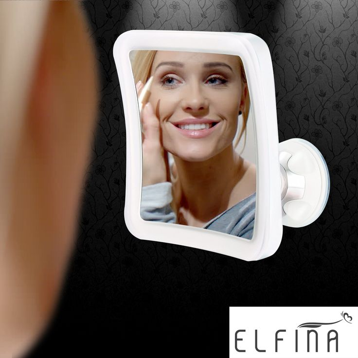 Lighted Makeup Mirror by ELFINA provides the best natural light source in poorly lit areas! If not satisfied in any way, 100% replacement or 100% money back! http://amzn.to/2h7nYZF