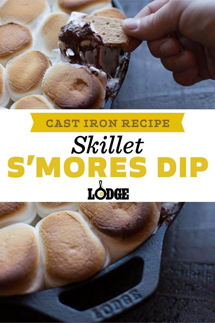 Skillet S'mores Dip