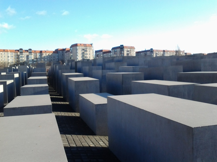 Monumento a los judíos asesinados, Berlín (Alemania)