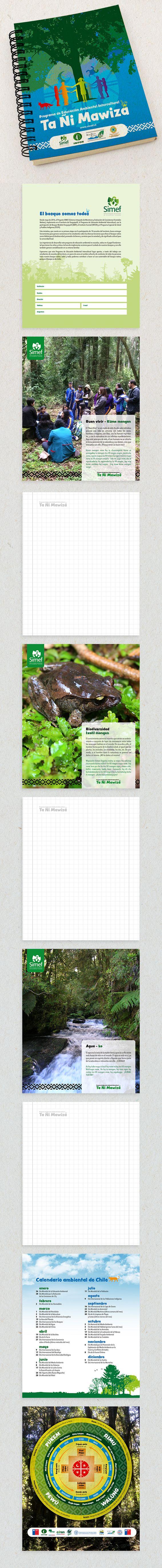 Diseño de Cuaderno para proyecto Ta Ñi Mawiza