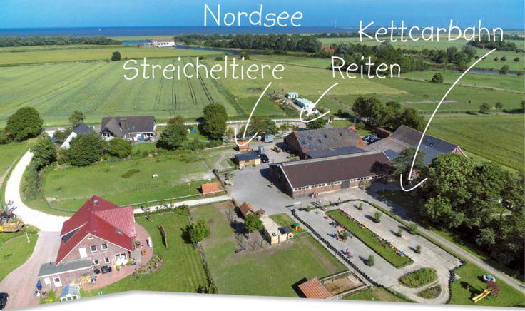 Der Ferien- und Erlebnishof Janssen an der Nordsee im Wangerland