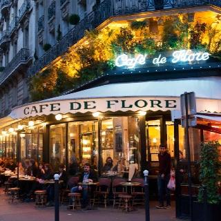 Cafe de Flore. Paris.