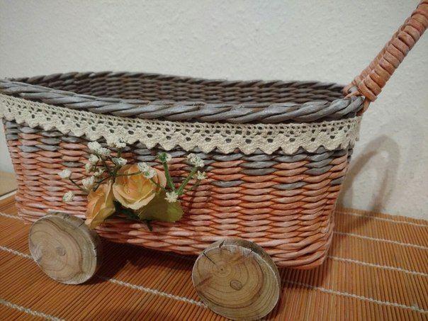 Тележка Плетение