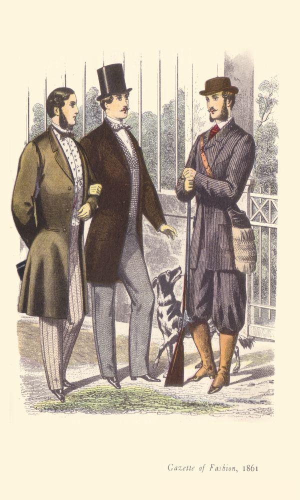 """Gazette of Fashion"" 1861 from ""Fashion and Fashion Plates 1800-1900"" (courtesy of fashion-era.com)"