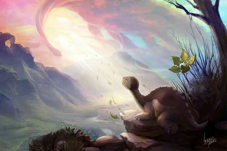 Let your heart guide you ,It whispers, so listen closely.....The Land Before Time