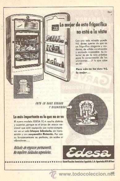 17 best images about publicidad retro espanola on - Electrodomesticos retro ...
