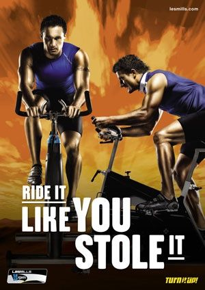 Les Mills Cycle kicks my butt - in a good way! Best low impact cardio that you can do. #myactiveyear