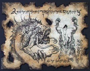 Bride of Dagon Necronomicon page