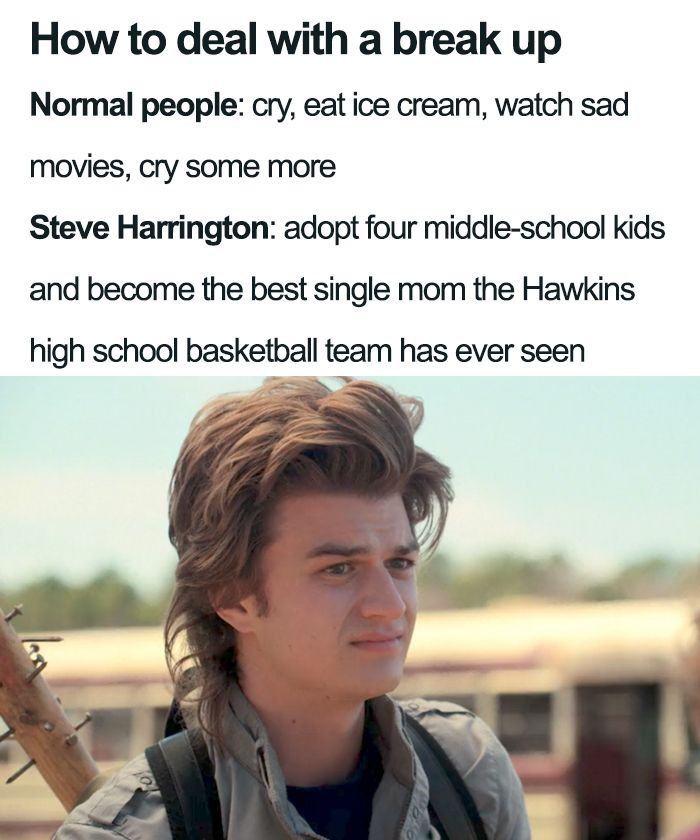 35 Stranger Things Season 3 Memes That Will Take Your Mood From Ten To Eleven Stranger Things Funny Stranger Things Have Happened Stranger Things Steve