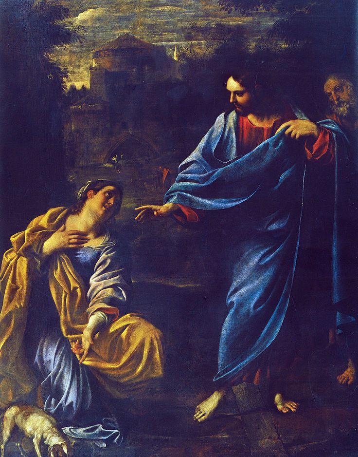 Annibale Carracci, Cristo e la Cananea, 1595, Parma - Annibale Carracci - Wikipedia