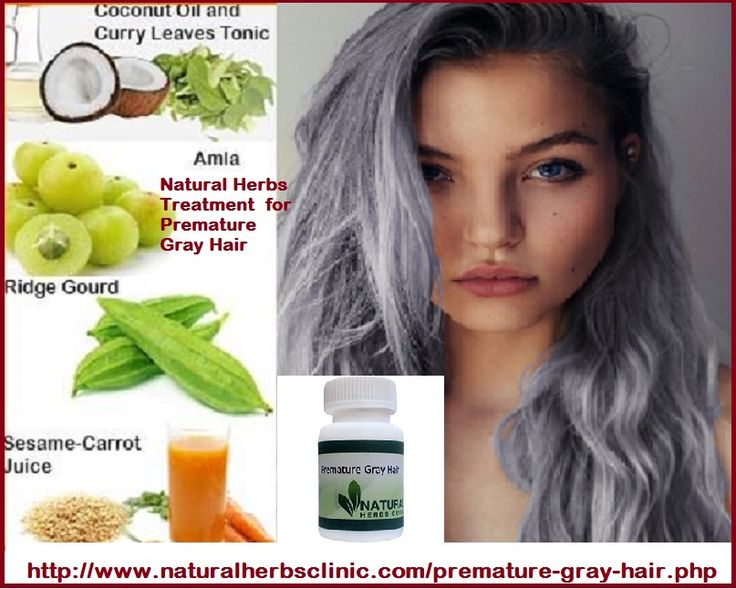 There is small scientific facts pointing to what causes gray hair other than the aging growth, but traditional cultures such as China and India have long used certain Natural Herbs for Premature Gray Hair to deal with imbalances that may cause premature graying.... http://www.naturalherbsclinic.com/natural-herbs-for-premature-gray-hair