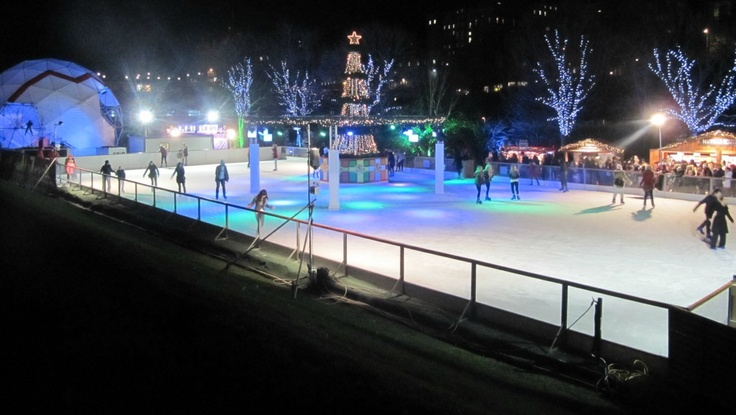 Lighting For Backyard Rink : 1000+ images about Ice Rink on Pinterest