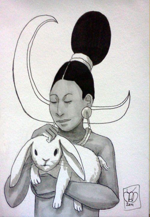 Ixchel, diosa de la luna maya... | NeoMexicanismos | Bloglovin'