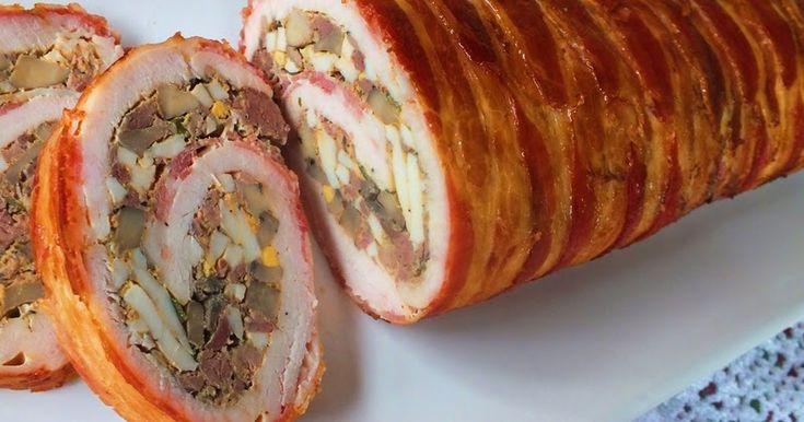 Nagyon szeretjük a szárnyasokat és a göngyölt húsokat is.A baconbe tekerés miatt nem szárad ki,melegen és hidegen is tökéletes. Baconbe...