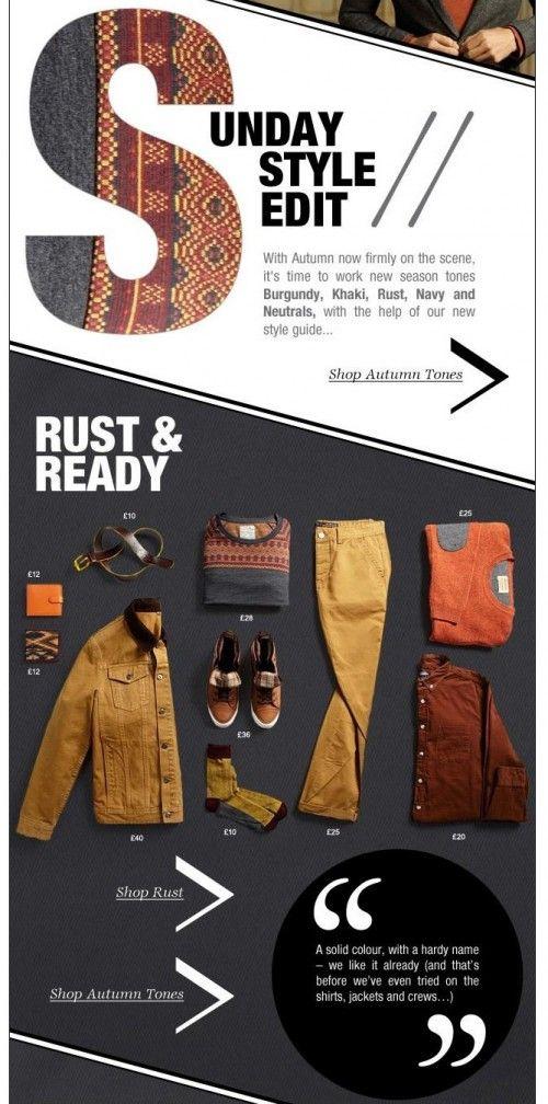 Burton e-newsletter. EDITD explore the phenomenon of using blogger-style visual layouts in retail.