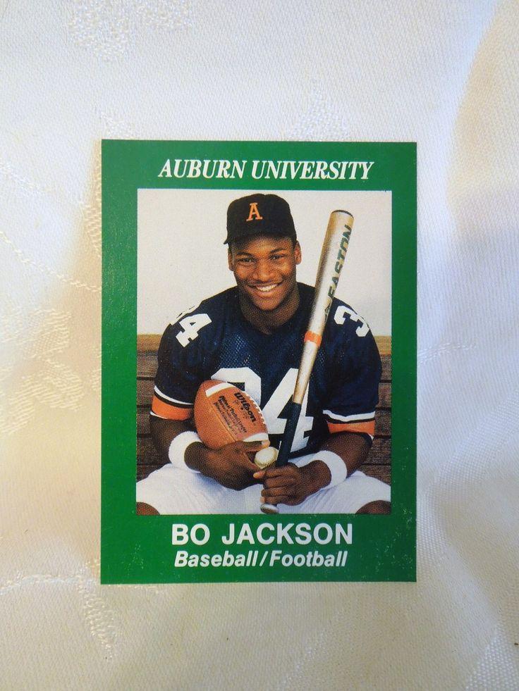 bo jackson football cards worth