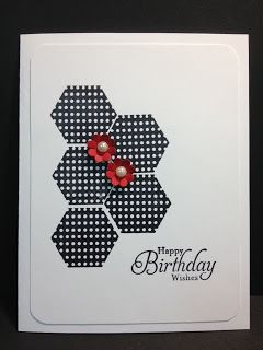 Six Sided Sampler Birthday Card Stampin' Up! Rubber Stamping Handmade cards