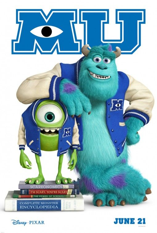 Monsters University Movie Poster - Internet Movie Poster Awards Gallery