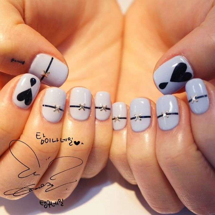 77 best snsd nails images on pinterest nail art nailart and i love it soo much want them prinsesfo Image collections