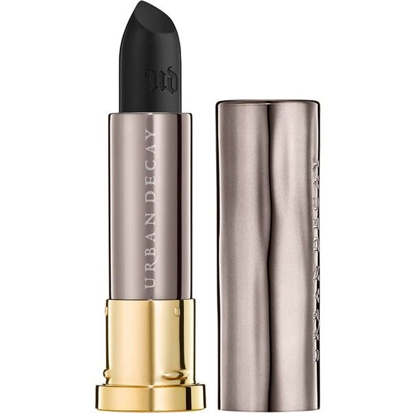 Urban Decay Vice Comfort Matte Lipstick ($17) ❤ liked on Polyvore featuring beauty products, makeup, lip makeup, lipstick, urban decay, urban decay lipstick, moisturizing lipstick and creamy lipstick