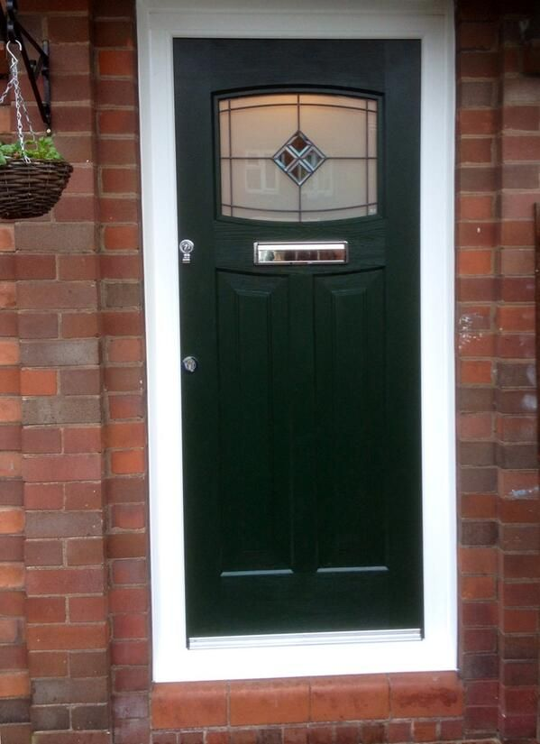Green 1930\u0027s style composite door & The 24 best 1930\u0027s Style Front Doors images on Pinterest | Entrance ...