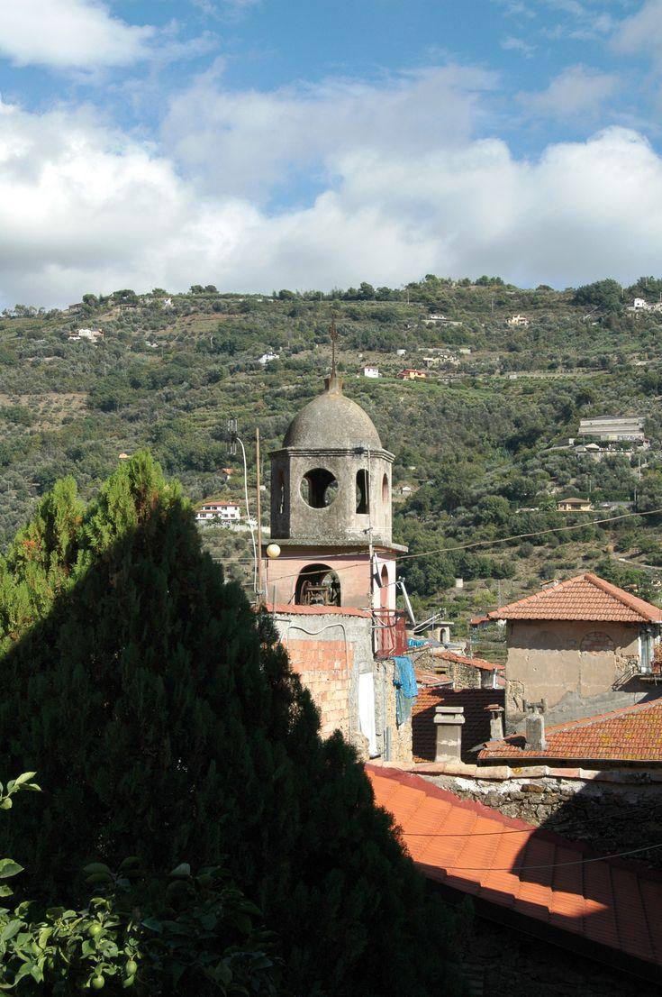 San Biagio della Cima (IM), campanile dell'Oratorio dell'Assunta