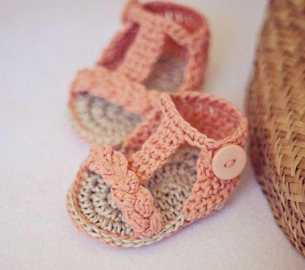 Babyschuhe Häkeln 100 Wunderschöne Ideen Archzinenet Rund