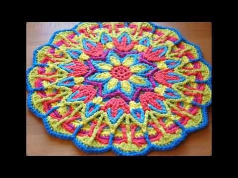 MANDALA a crochet: aprende a tejerlo con mi DIY (diestro) - YouTube