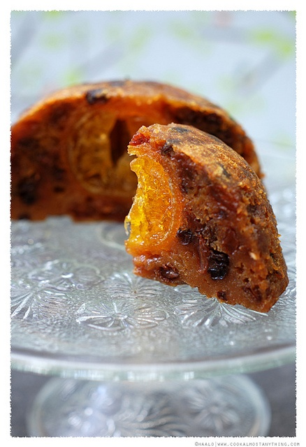 Hidden Orange Christmas Pudding