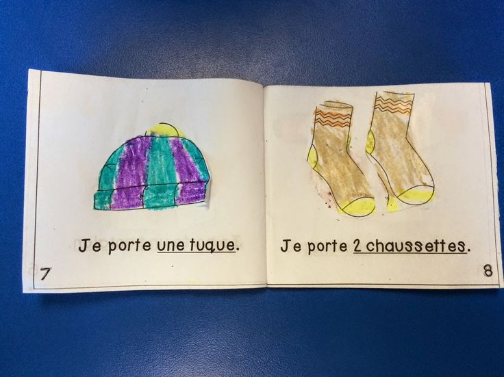 Primary French Immersion Resources: Reading - our mini books