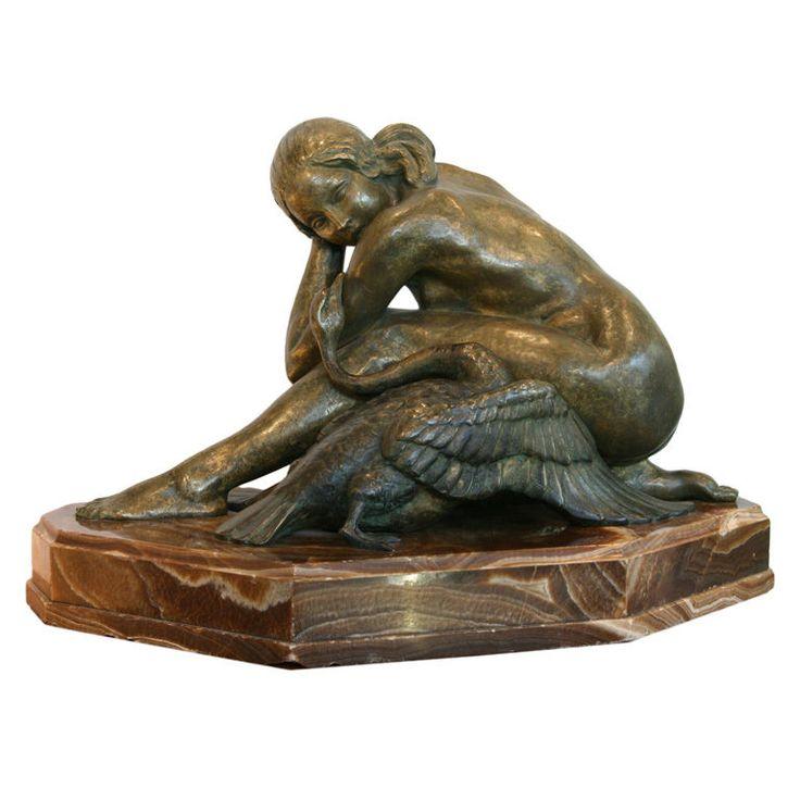 179 best ART DECO Sculptures/Statues images on Pinterest | Art ...