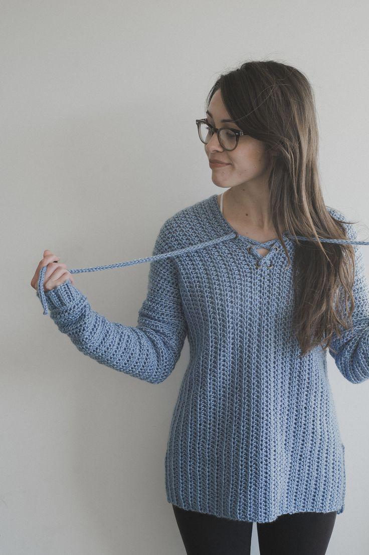 Free Crochet Pattern for the Cross My Heart Sweater
