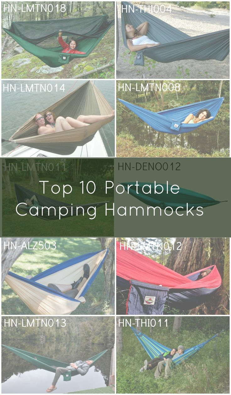 Top 10 Portable Camping Hammocks.