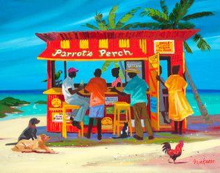 "Shari Erickson - ""Parrots Perch"""